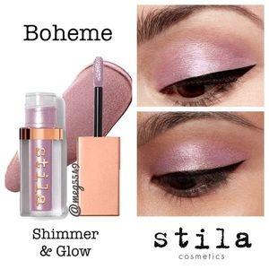 New Stila Shimmer and Glow Liquid Eyeshadow